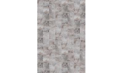 INFLOOR Teppichfliese »Velour Steinoptik Marmor grau«, selbsthaftend 25 x 100 cm kaufen