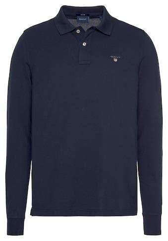 Gant Langarm-Poloshirt »THE ORIGINAL PIQUE RUGGER« kaufen