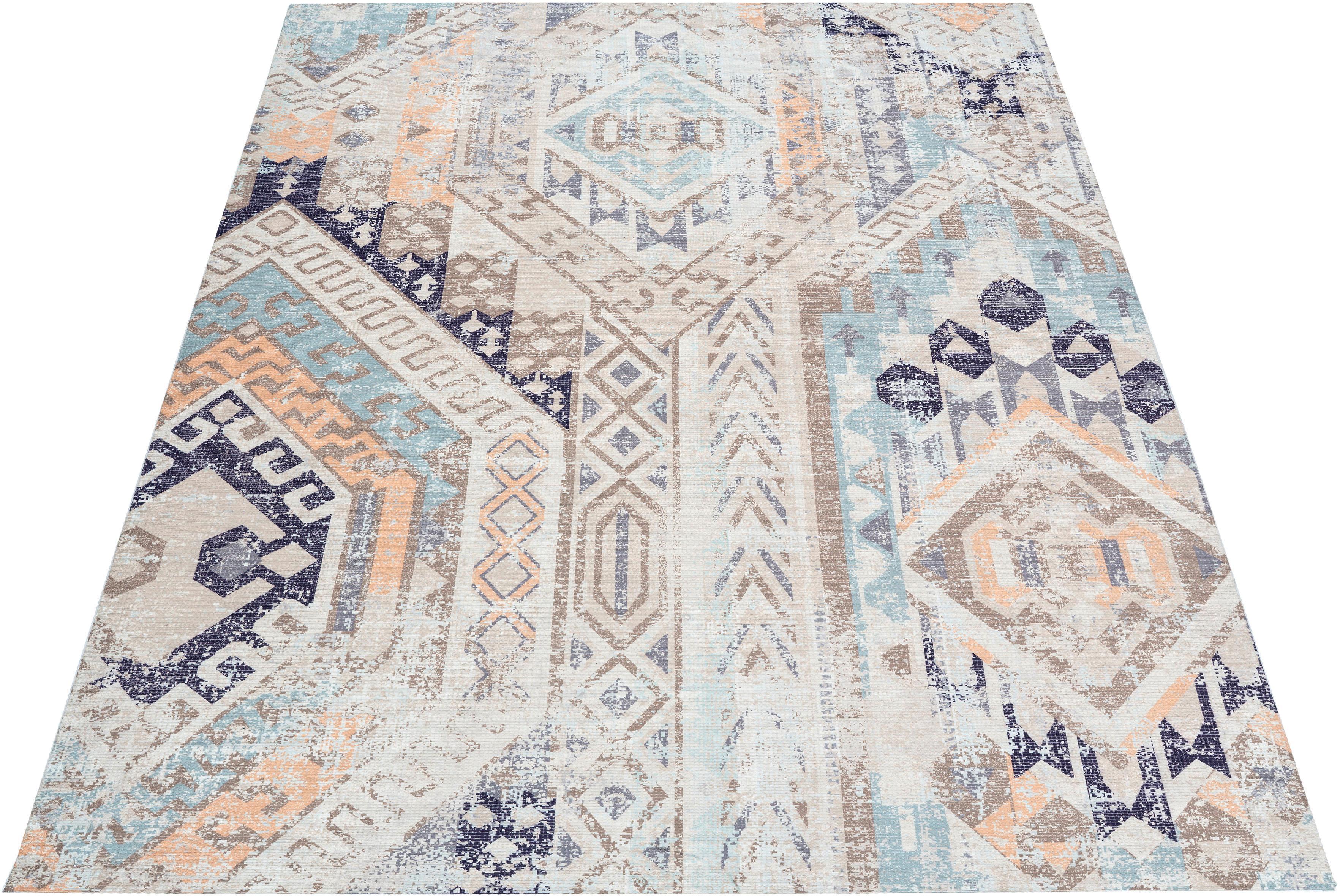 Teppich Ruben andas rechteckig Höhe 10 mm gedruckt