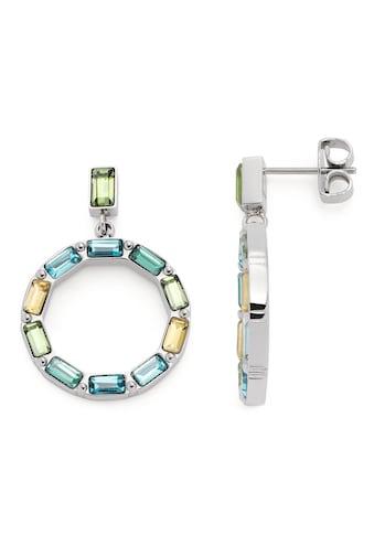 LEONARDO Paar Ohrstecker »Grafica, 021372«, mit Kristallglas kaufen