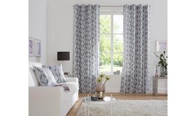 Gardine, »Verona«, my home Selection, Ösen 2 Stück kaufen