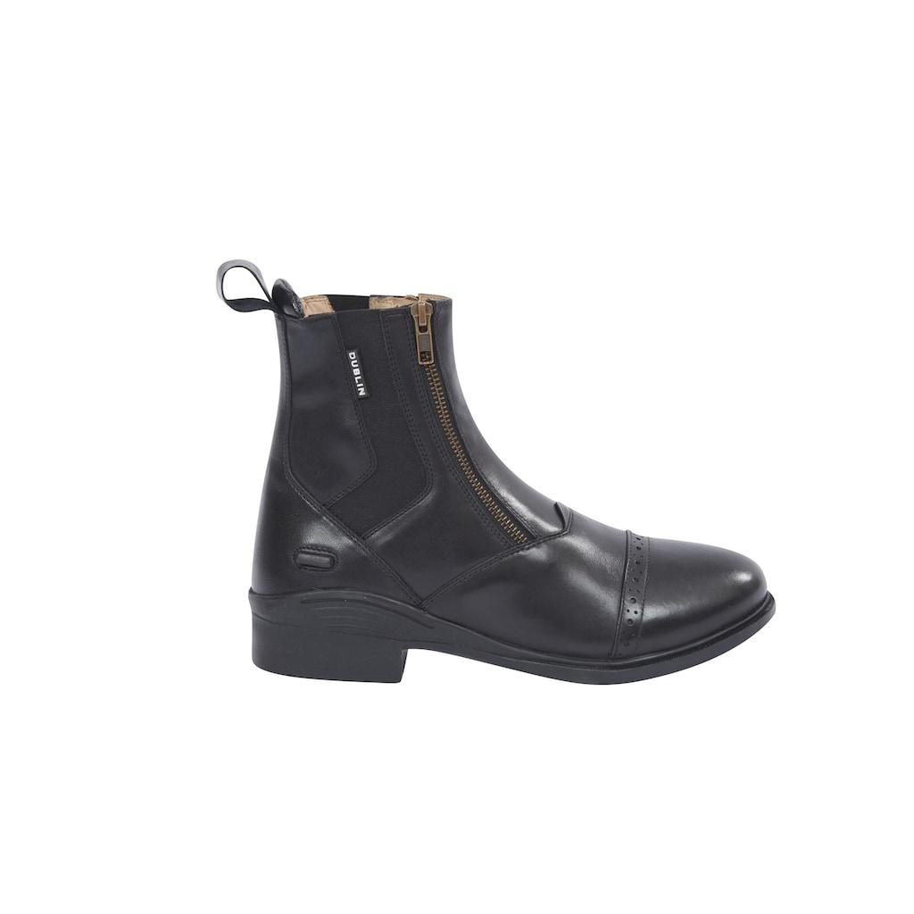 Dublin Reitstiefel »Evolution Unisex Doppel-Zip Leder Paddock Stiefel«