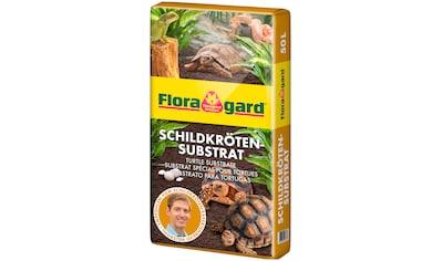 FLORAGARD Terrarien - Substrat , für Schildkröten und Terrarien, 50 Liter kaufen