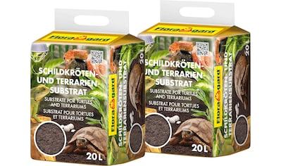 Floragard Terrarien-Substrat »Schildkrötensubstrat«, 2x20 Liter kaufen