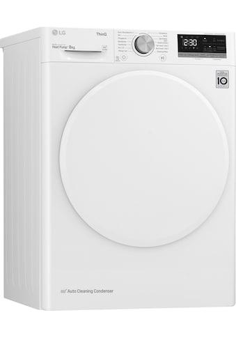 LG Wärmepumpentrockner V3RT8, 8 kg kaufen