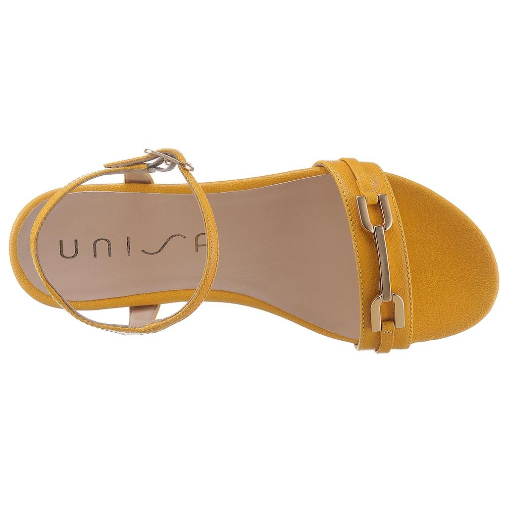 Unisa Sandale »Carita«, mit eleganten Schmuckelement