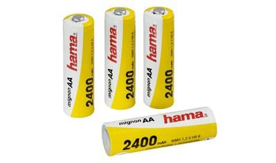 Hama NiMH - Akkus Ready4Power, 4x AA (Mignon  -  HR 6) 2400 mAh kaufen