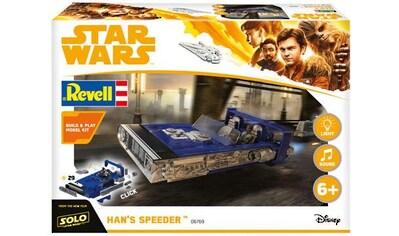 Revell® Modellbausatz »Build & Play - Disney Star Wars™ - Hans Speeder«, 1:28 kaufen