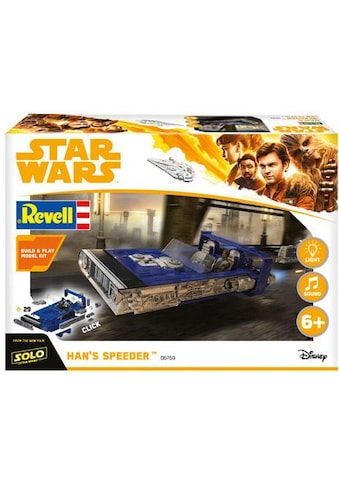 "Revell® Modellbausatz ""Build & Play  -  Disney Star Wars™  -  Hans Speeder"", Maßstab 1:28 kaufen"