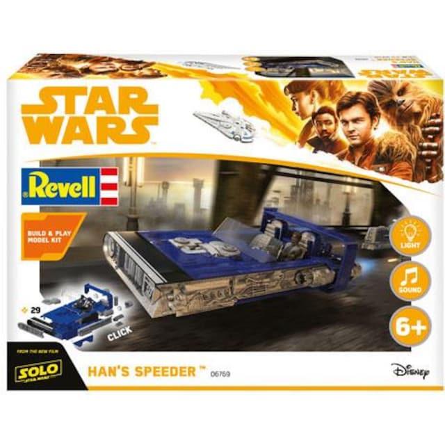 """Revell® Modellbausatz """"Build & Play - Disney Star Wars™ - Hans Speeder"""", Maßstab 1:28"""
