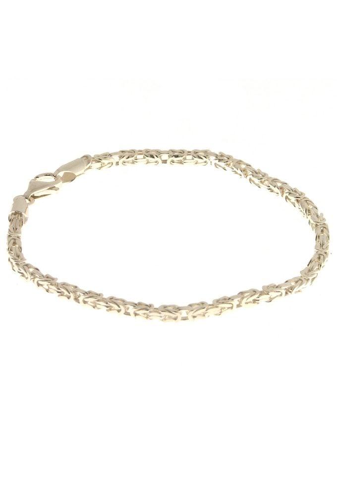 Firetti Königsarmband 2,6 mm breit, glanz, quadratische Form | Schmuck > Armbänder > Königsarmbänder | Firetti