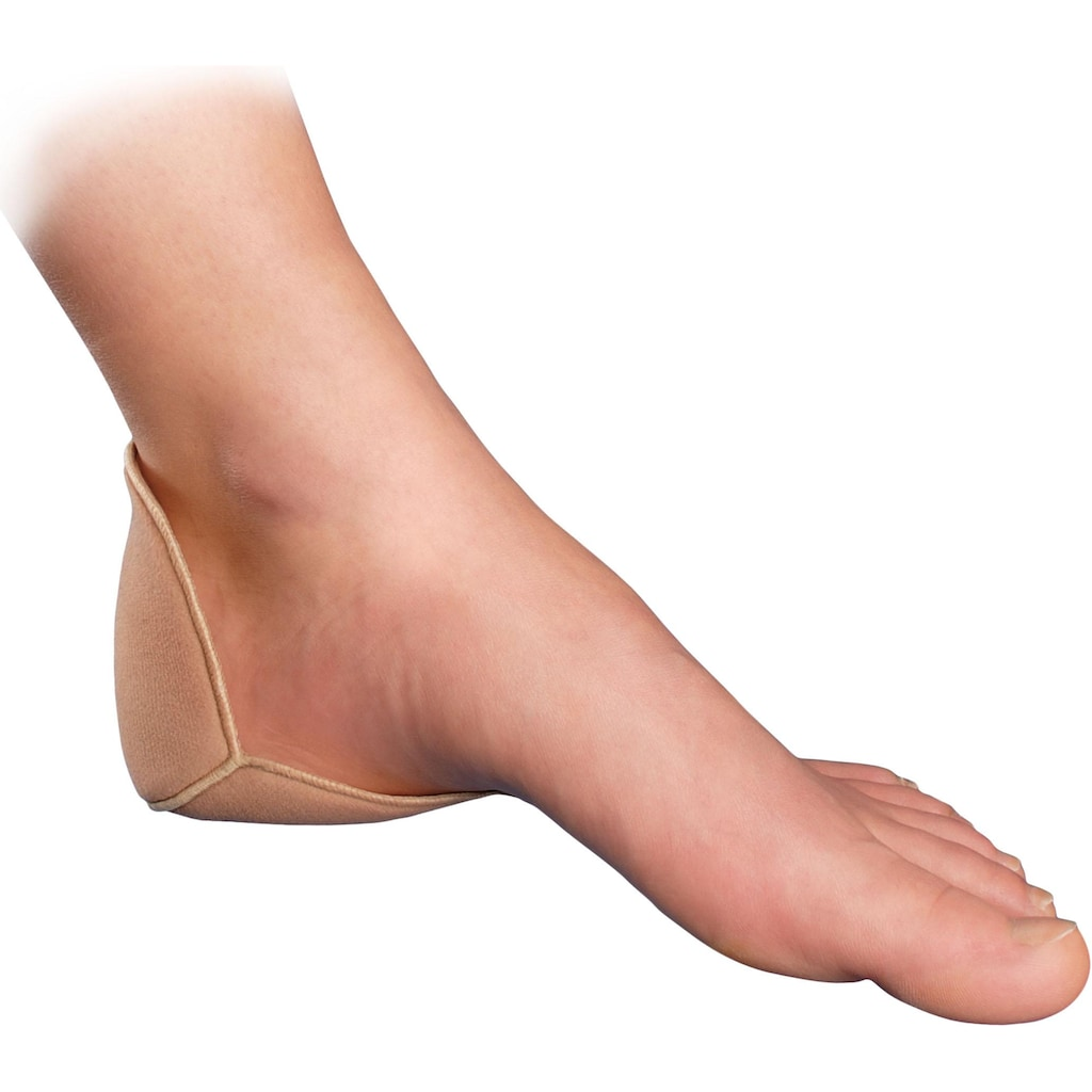 Fußgut Fersenpolster, (2 Paar), Universalgröße