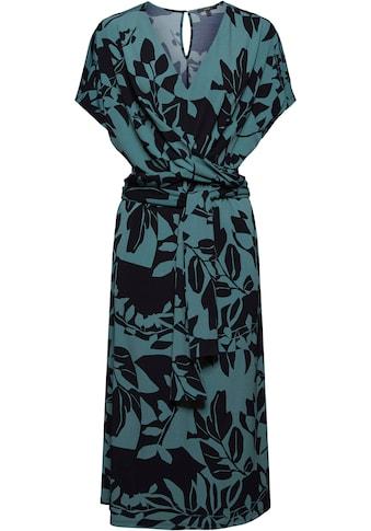 Esprit Collection Jerseykleid, in toller Wickeloptik kaufen