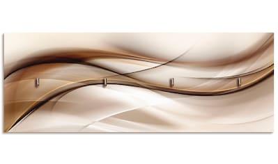 Artland Schlüsselbrett »Braune abstrakte Welle« kaufen
