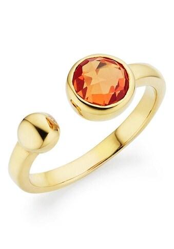GEMMONA Fingerring »Q0017R/90/GQ/«, mit Quarz kaufen