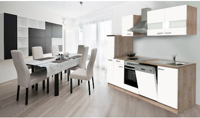 RESPEKTA Küchenzeile, mit E-Geräten, Breite 250 cm kaufen