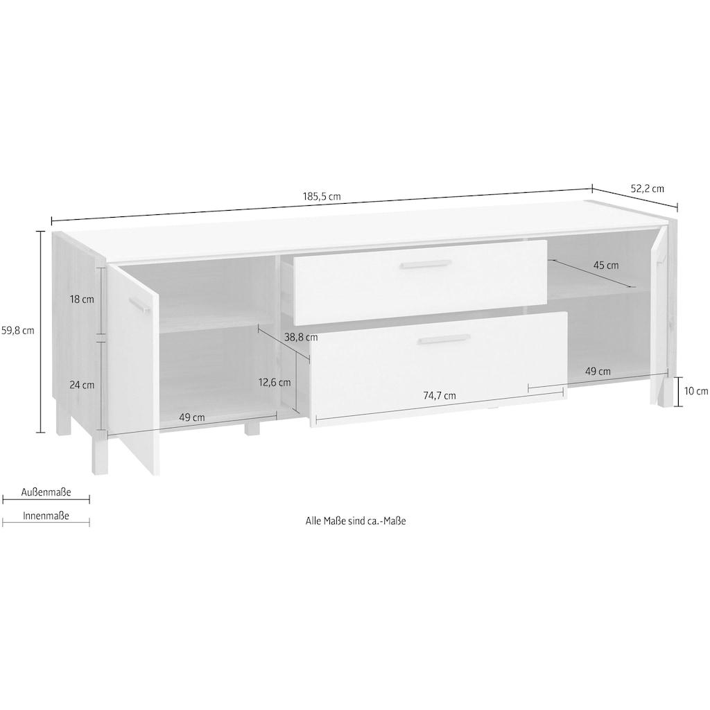 FORTE TV-Board, Breite ca. 185 cm