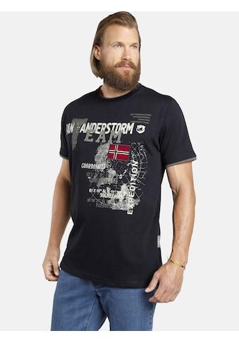 Jan Vanderstorm T-Shirt »SÖLVE«, robuster Baumwolljersey kaufen