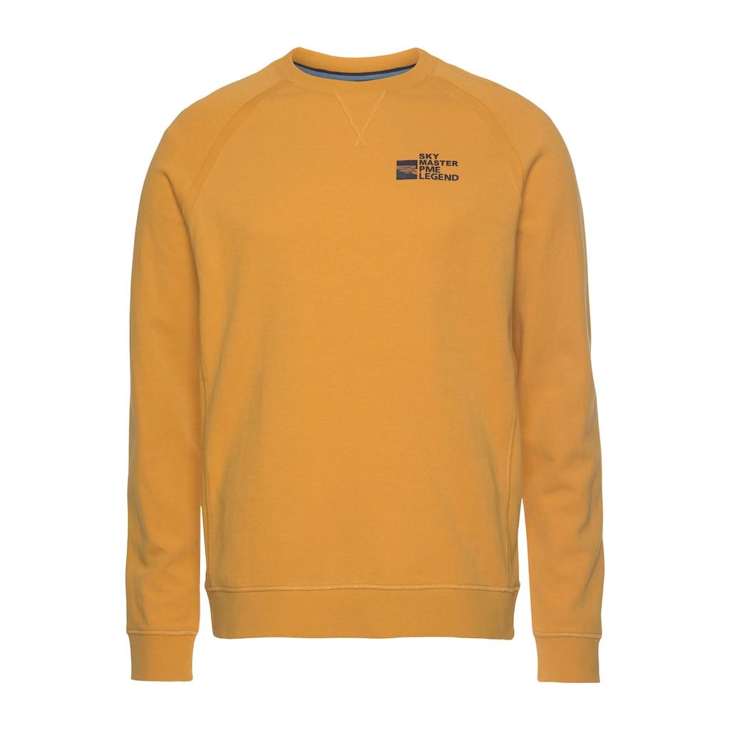 PME LEGEND Sweatshirt, Mit kleinem Logofrontprint