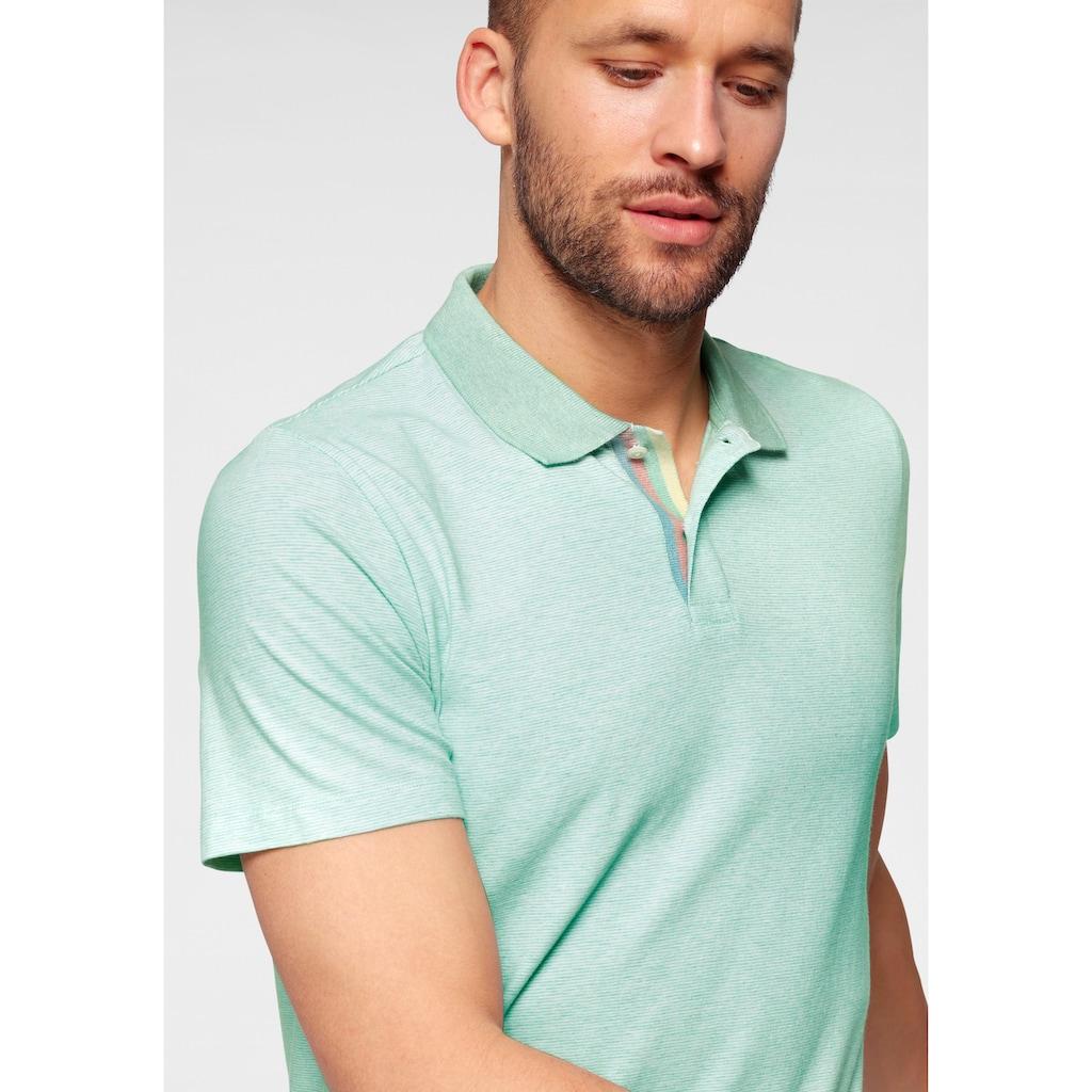 OLYMP T-Shirt »Level Five body fit«, mit sehr feinem Streifenmuster