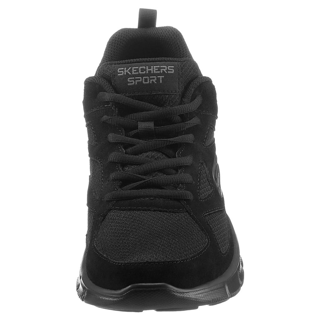 Skechers Sneaker »EQUALIZER«, mit komfortabel gepolsterter Innensohle