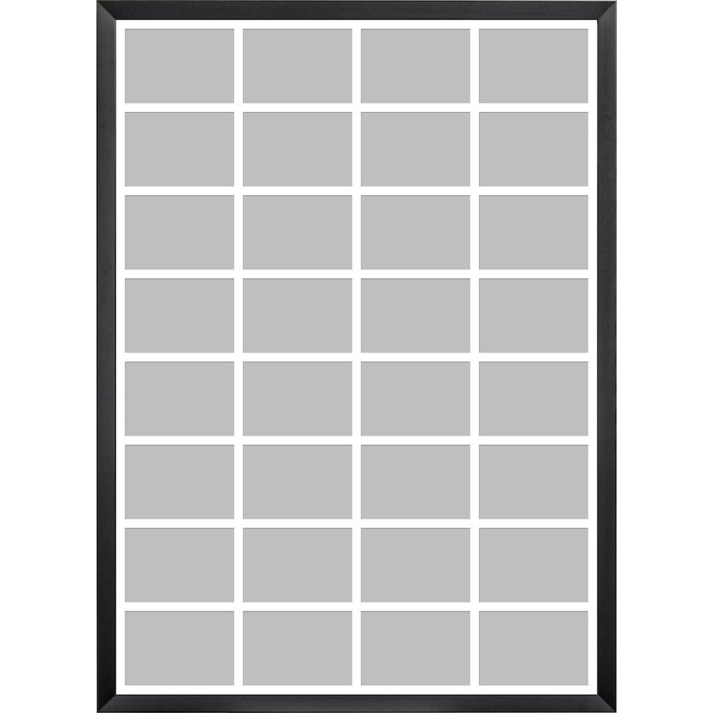 OTTO products Bilderrahmen Collage »Timmi, weiß«, für 32 Bilder, (1 St.), Bildformat 10x15 cm