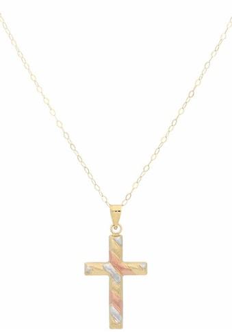 Firetti Kreuzkette »Kreuz, tricolor« kaufen