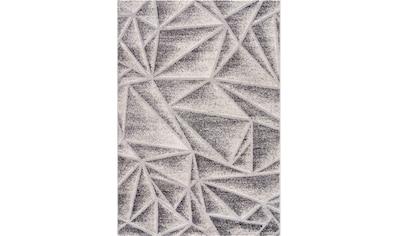 Sanat Teppich »Evra 7004«, rechteckig, 22 mm Höhe, Kurzflorteppich mit Hoch Tief Struktur kaufen