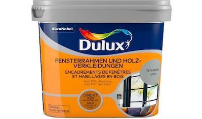 Dulux Holzlack »Fresh Up«, für Fensterrahmen und Holzverkleidungen, titanium, 0,75 l kaufen