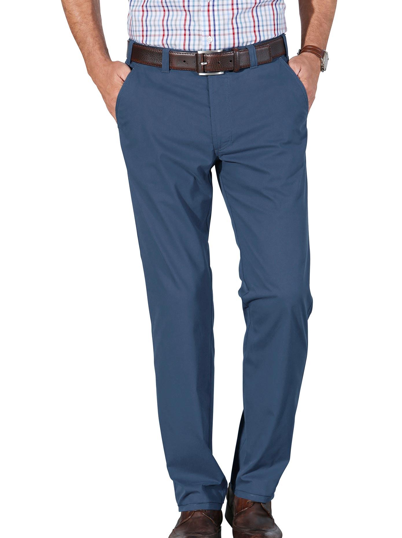 Brühl Hose in gepflegter leichter easy care-Qualität | Bekleidung > Hosen > Sonstige Hosen | Blau | Brühl