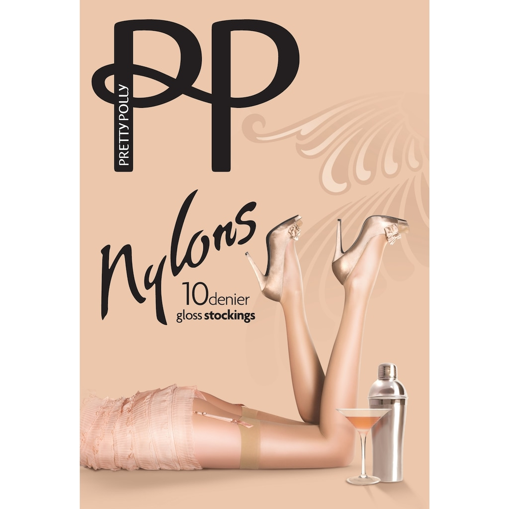Pretty Polly Strapsstrümpfe, 'Nylons' 10 DEN