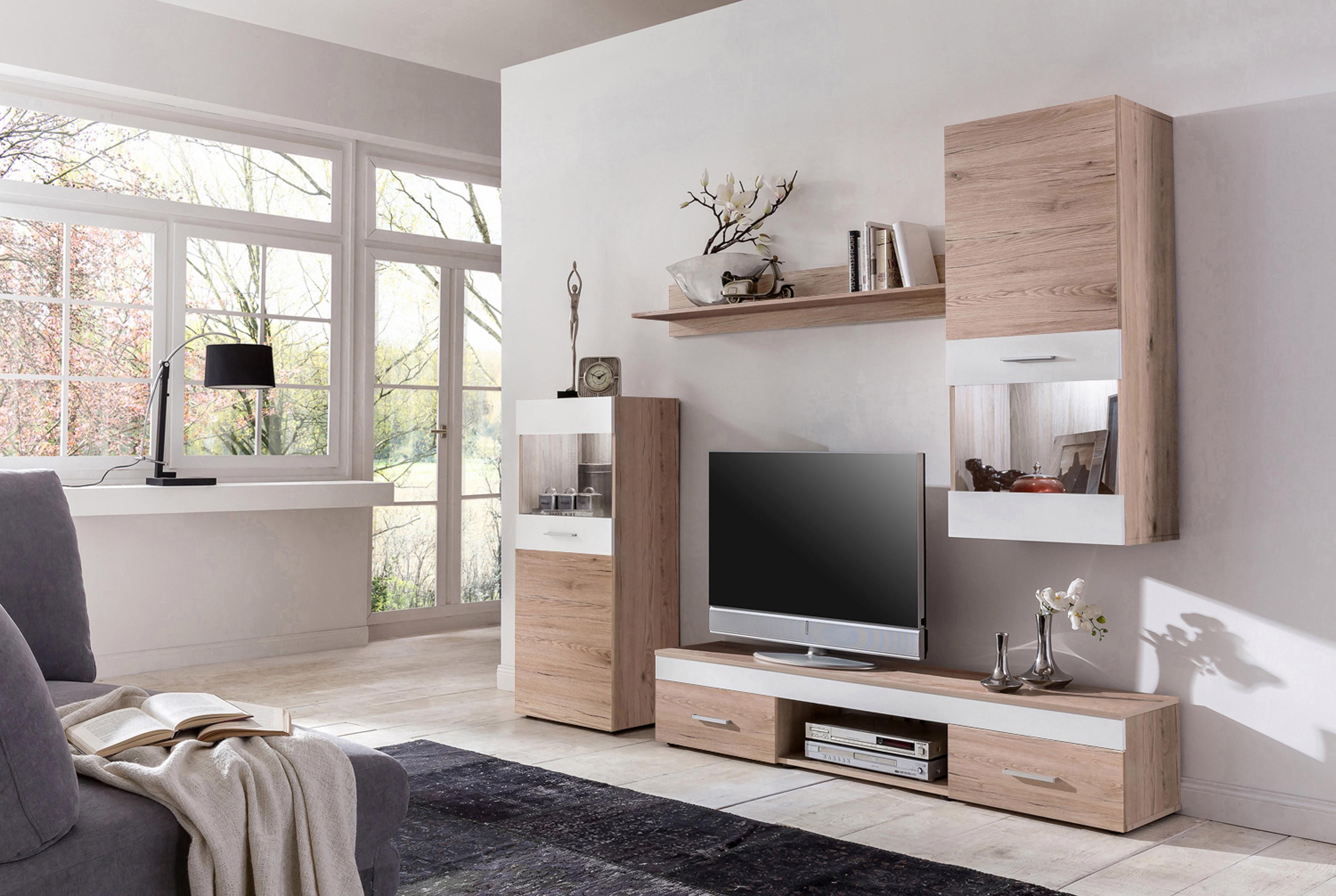 Wohnwand (Set, 4-tlg) kaufen | BAUR