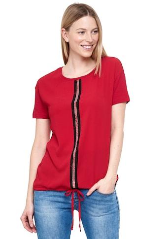 Decay T-Shirt, mit modischem Mittelstreifen kaufen
