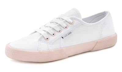 LASCANA Sneaker, mit farblich abgesetzter Sohle kaufen