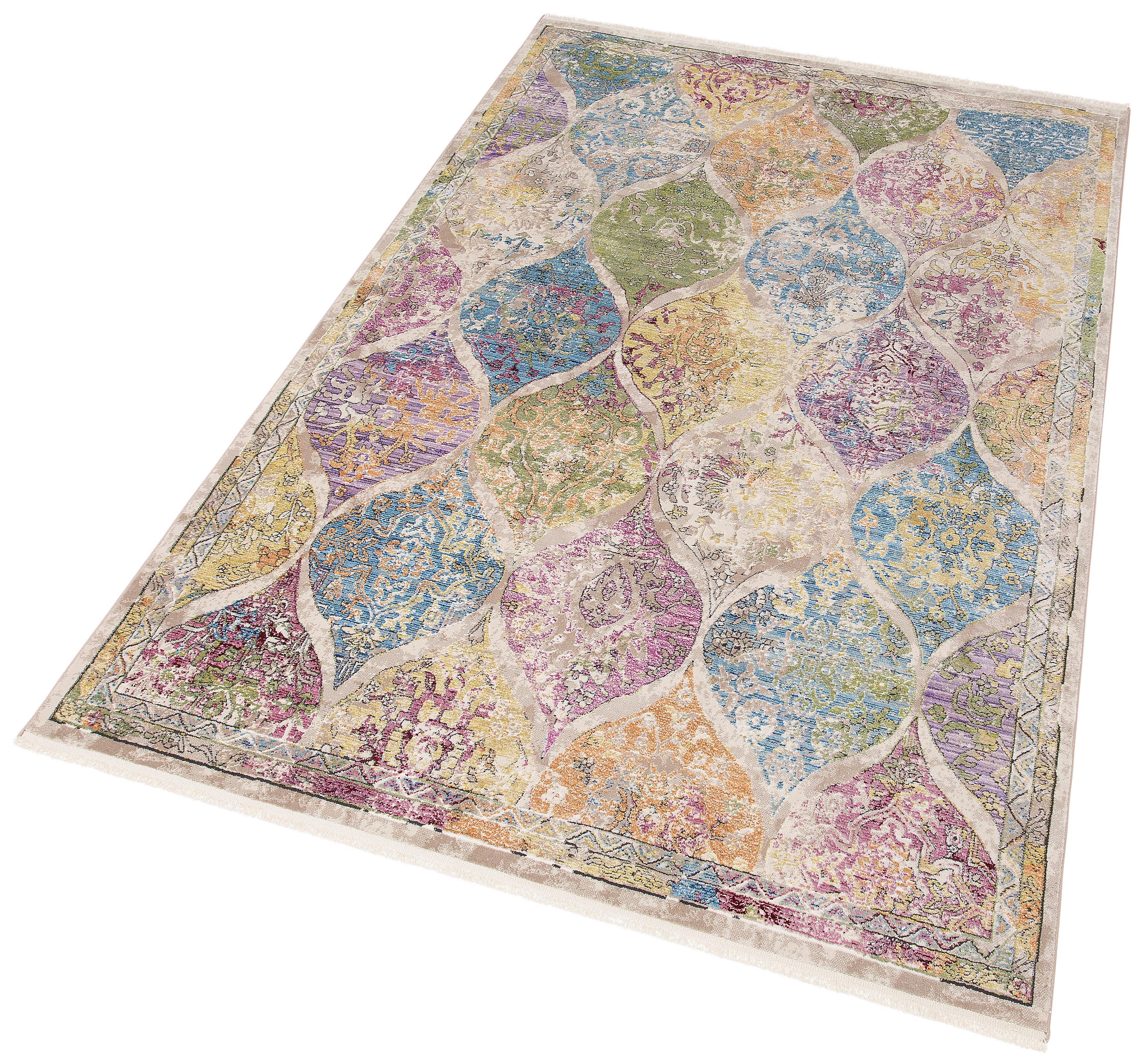 Teppich Colorful 24021 merinos rechteckig Höhe 7 mm maschinell gewebt