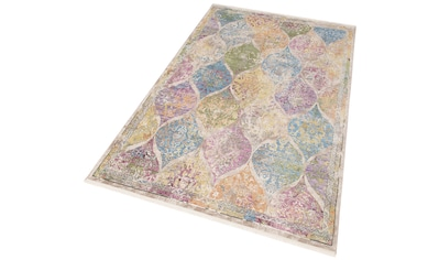 Teppich, »Colorful 24021«, merinos, rechteckig, Höhe 7 mm, maschinell gewebt kaufen