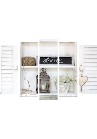 Art for the home Leinwandbild »Fensterläden« kaufen