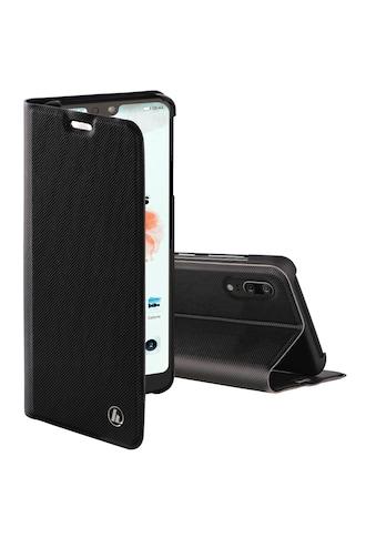 """Hama Booklet """"Slim Pro"""" für Huawei P20, Schwarz »Smartphone - Booklet« kaufen"""