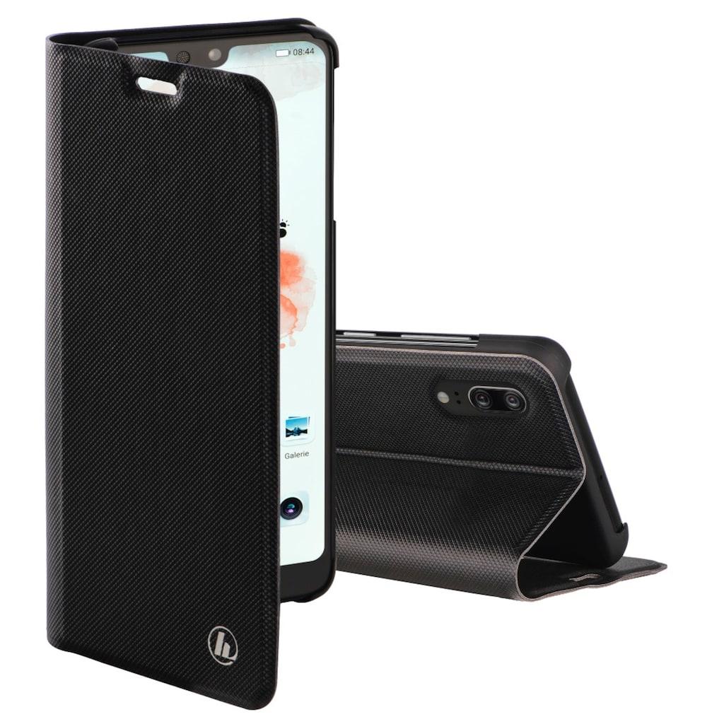 """Hama Booklet """"Slim Pro"""" für Huawei P20, Schwarz"""