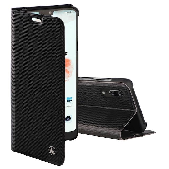 """Hama Booklet """"Slim Pro"""" für Huawei P20, Schwarz »Smartphone-Booklet«"""