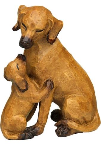 Ambiente Haus Dekofigur »Hund mit Welpe«, groß kaufen