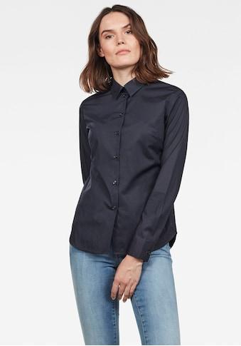 G-Star RAW Hemdbluse »Core«, in leicht taillierter Form kaufen