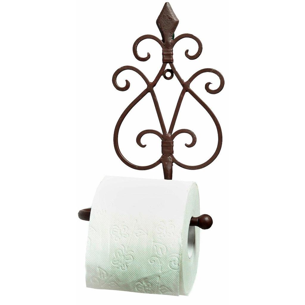 Ambiente Haus Toilettenpapierhalter »Antik«, antikbraun