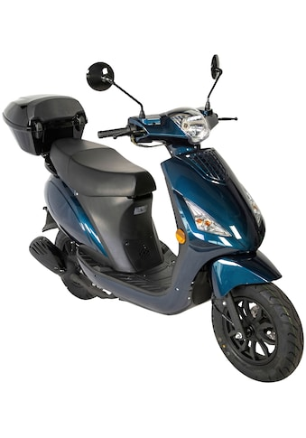 GT UNION Motorroller »Matteo 45«, 50 cm³, 45 km/h, Euro 5, 3 PS, mit Topcase kaufen