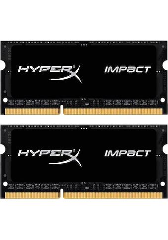 HyperX »HyperX Impact SODIMM  -  32GB Kit (2x16GB)  -  DDR4 2400MHz CL14 SODIMM« PC - Arbeitsspeicher kaufen
