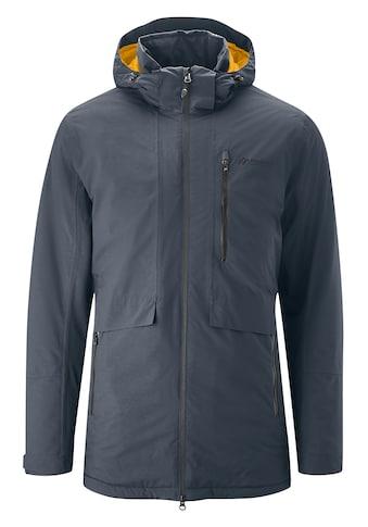 Maier Sports Funktionsjacke »Kaiden M«, Lange, warme Outdoorjacke im modernen Design kaufen