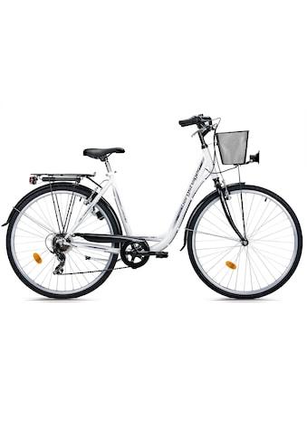 bergsteiger Cityrad »Florenz«, 7 Gang, Shimano, Tourney RD-TY21 Schaltwerk,... kaufen
