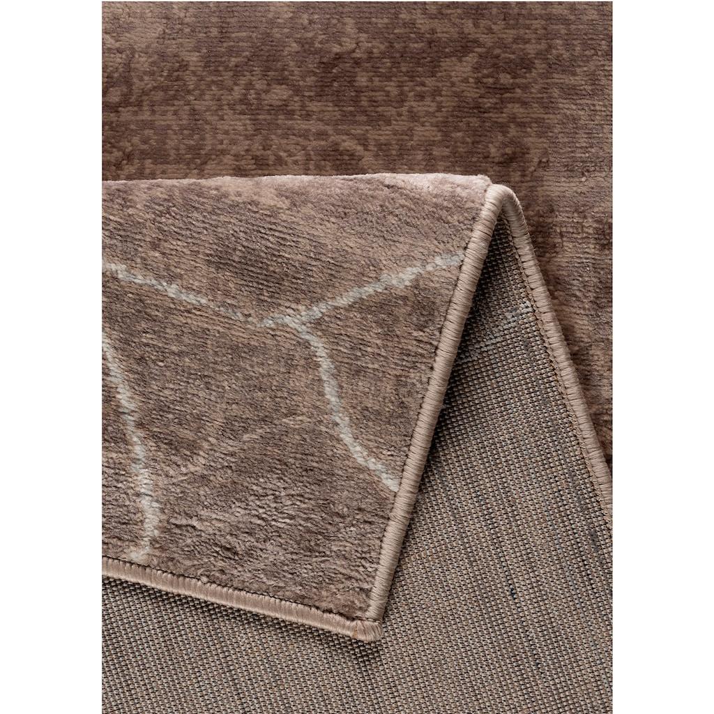 Sehrazat Orientteppich »Montana 3740«, rechteckig, 8 mm Höhe, Wohnzimmer