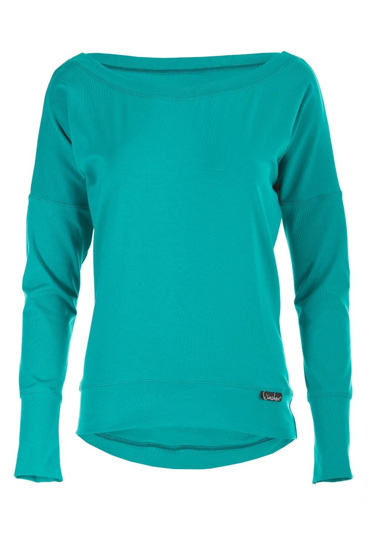 Winshape Oversize-Shirt Longsleeve WS2   Bekleidung > Shirts > Oversize-Shirts   Grün   Winshape
