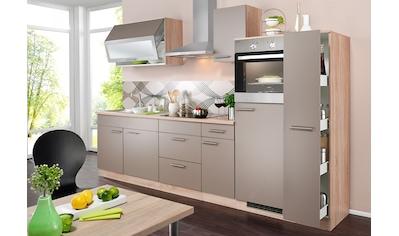 wiho Küchen Küchenzeile »Montana«, mit E - Geräten, Breite 290 cm kaufen